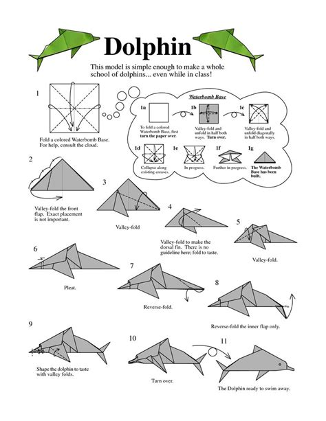 Origami Shark Diagram - 25 best ideas about origami on