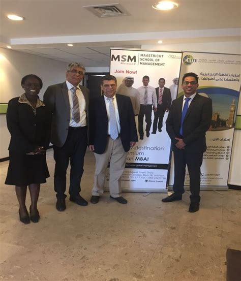 Mba Company In Kuwait by Msm Kuwait Maastricht School Of Management Kuwait City