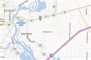 milton florida map commercial building in milton fl on hwy 90 near pensacola