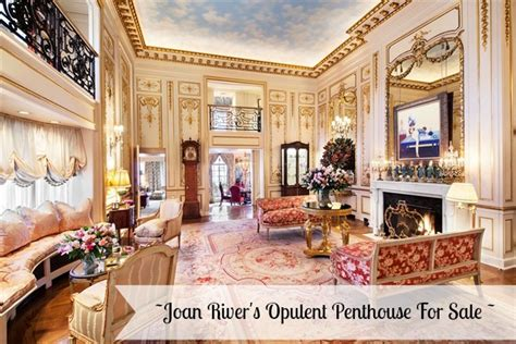 home decor rivers ave joan rivers penthouse back on the market
