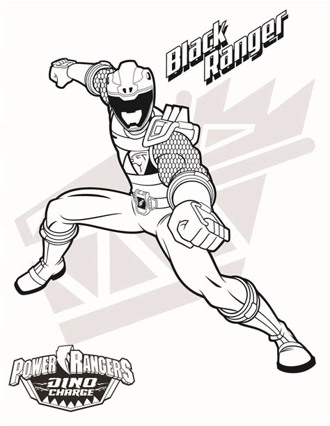 all power rangers coloring pages black ranger download them all http www powerrangers