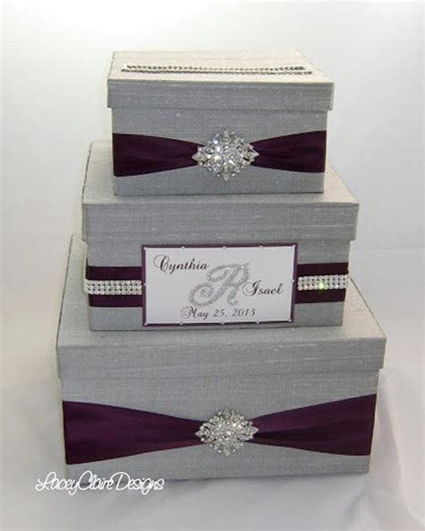 how to make a wedding gift box card holder wedding gift box bling card box rhinestone money holder