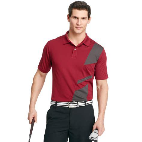 izod golf shirt shortsleeve micro pique performance polo
