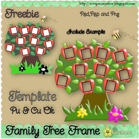 Barbietch: New Template Freebie * Family Tree Frame * Cu ok