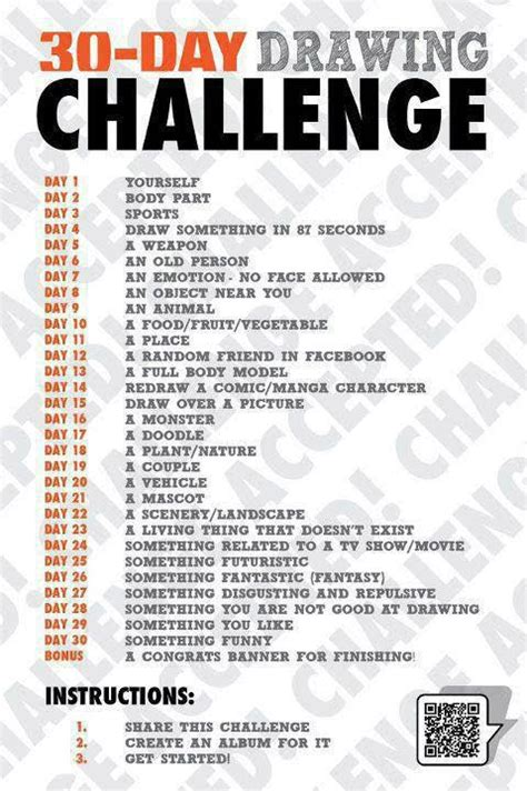 Drawing 6 Hours A Day by 30 Days Drawing Challenge By Deadeps On Deviantart