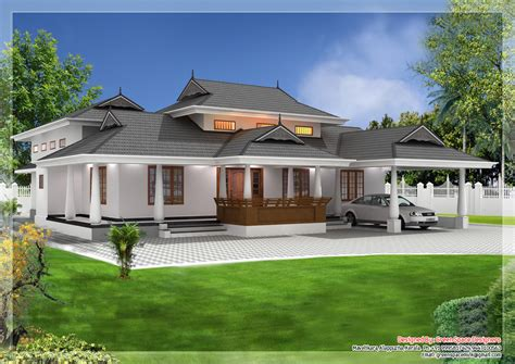 Kerala Style Traditional Villa Kerala India Kerala Style House Plans Kerala Kollam