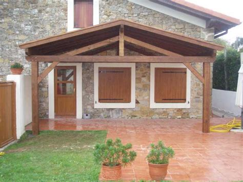 porches rusticos de madera porches rusticos cheap porches with porches rusticos