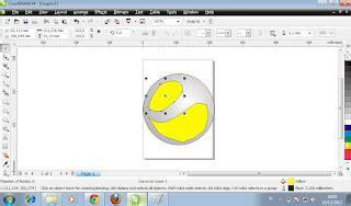 membuat iklan dengan coreldraw x4 cara membuat logo sony ericsson dengan coreldraw x4