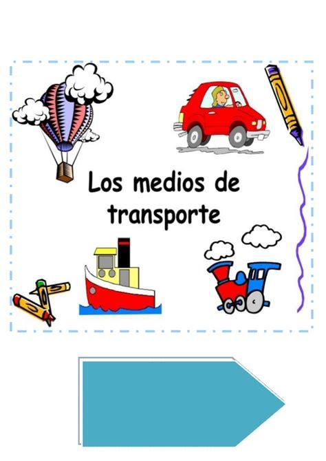 imagenes infantiles medios de transporte medios de transporte y comunicacion