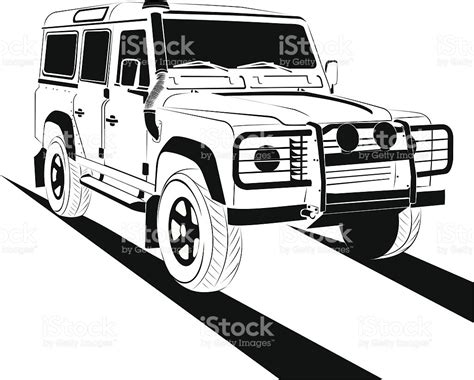 range rover vector off road stock vector art 165069268 istock