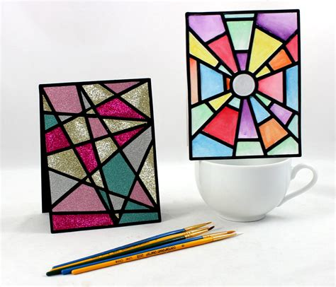 Glasses Com Gift Card - stained glass window cutting collection wpc ai and svg pazzles craft room