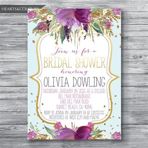 Bridal Shower Invitation,WEDDING SHOWER INVITE,Floral