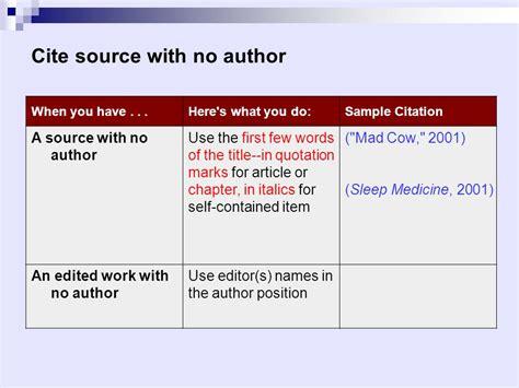 apa format online article no author 論文基本架構和格式 mla vs apa ppt download