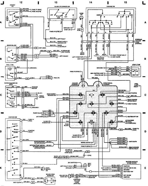 1999 jeep wrangler blower wiring diagram