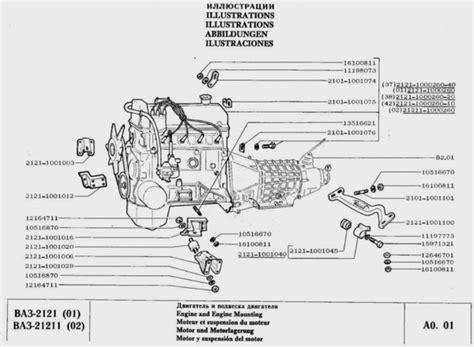 Lada Niva Manual Lada Niva Spare Parts Vaz 2121 Part List Parts Manual