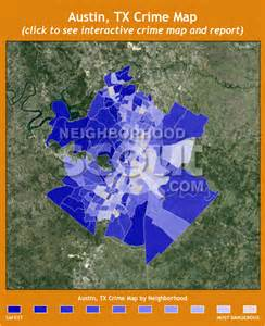 Crime Map Austin austin tx crime rates and statistics neighborhoodscout