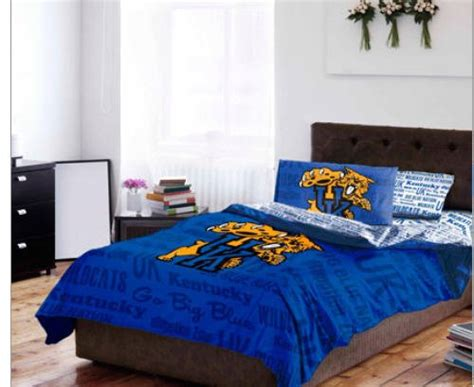 university of kentucky comforter kentucky wildcats comforter kentucky comforter