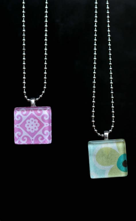glass tiles for jewelry try this