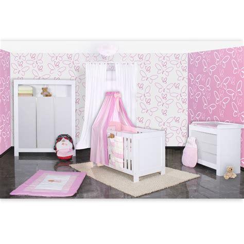 babyzimmer felix in weis grau 21 tlg mit 3 t 252 rigem kl - Babyzimmer Rosa Grau