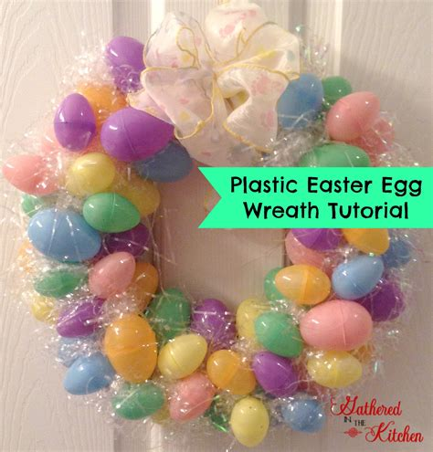 how to make an easter wreath with plastic eggs pastic easter egg wreath tutorial