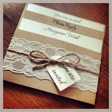 Rustic Diy Wedding Invitation Kits   Sunshinebizsolutions.com