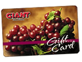 Giants Gift Cards - giant foods gift card balance check