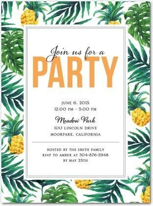 card template hawaian birthday jazlyn tropical delight invitations in mango east six