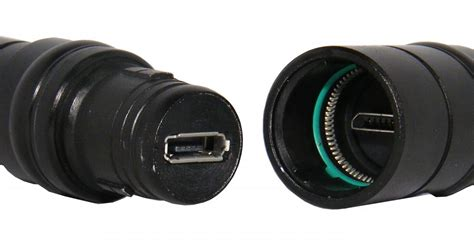 rugged micro usb connector for industrial operation