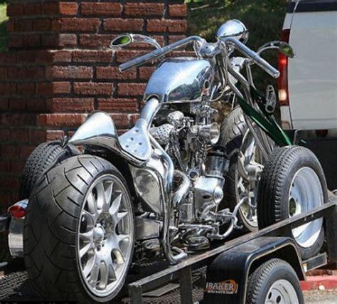 brad pitts latest custom motorcycle news top speed