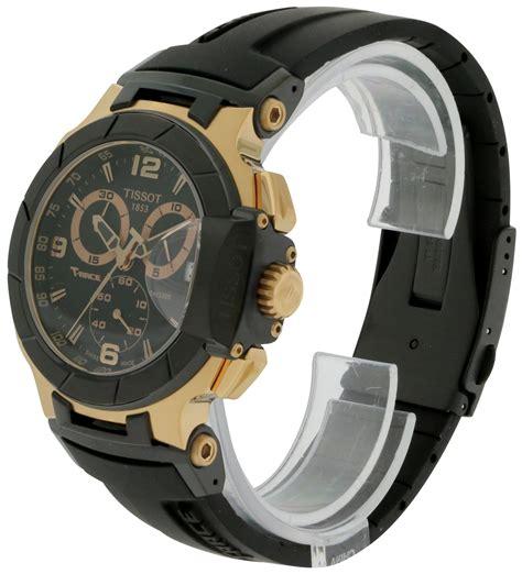 Tissot T Race T0484172705706 tissot t race gold chronograph mens