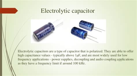 capacitor types and application basic structure of capacitor