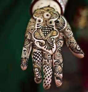 different styles of mehndi designs