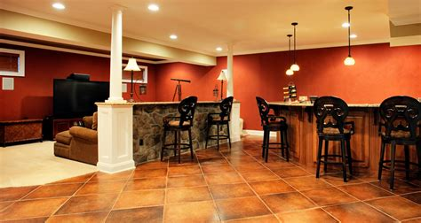 Livingroom Tiles by Basement Renovations Calgary Classic Craft Homes