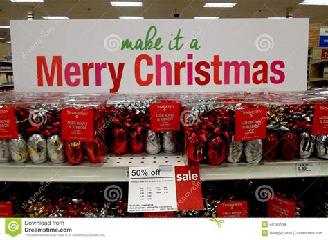 christmas sale at shopko editorial stock image image