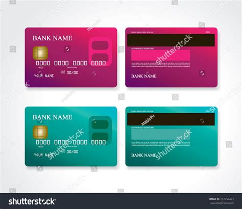 Pink Credit Card Digital by Credit Card Pink And Turquoise Stock Photo 112752493