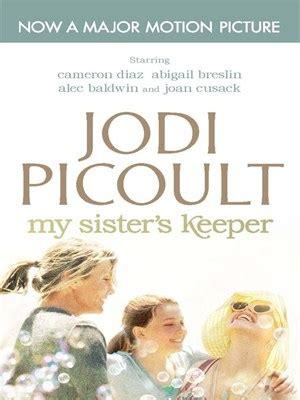 My Keeper By Jodi Picoult february ebook club my s keeper by jodi