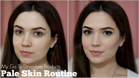 best contour for light skin pale skin routine foundation contour highlighter