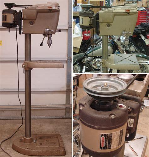 1950 craftsman floor standing drill press saw blade sharpening ta fl reviews craftsman drill
