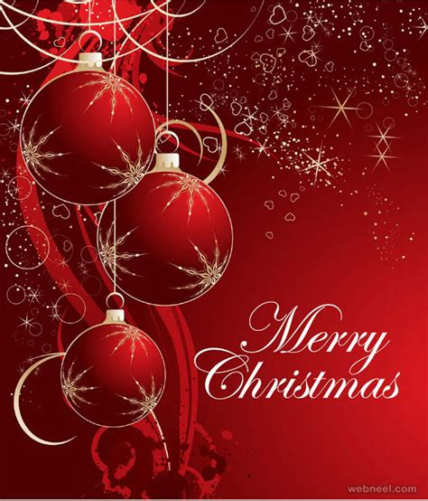 beautiful christmas greeting card designs  graphic resources
