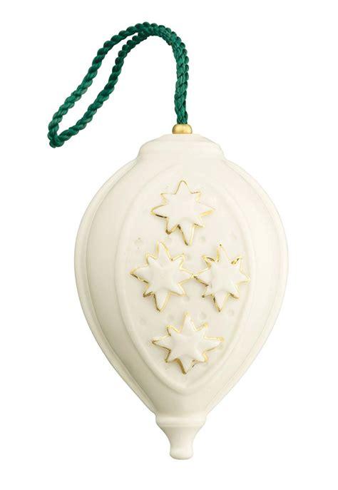 belleek ornaments belleek bauble ornament
