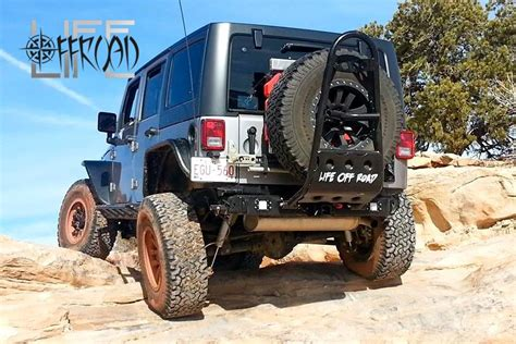 homemade jeep rear bumper jeep wrangler jk tire carrier rear bumper diy plans