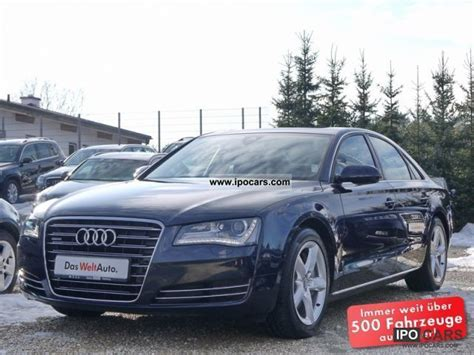 audi comfort package 2011 audi a8 4 2 tdi comfort seat package car photo and