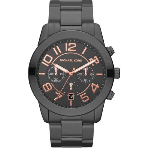 s gunmetal grey mercer chronograph mk8330