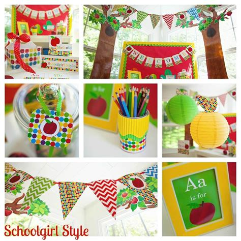 themes for class decoration classroom decorating trends for 2012 schoolgirlstyle