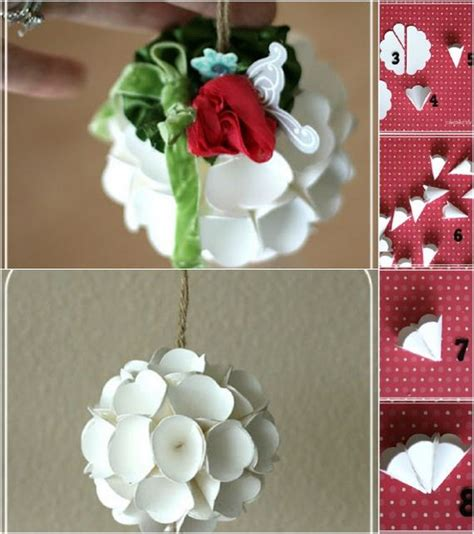 Ornaments With Paper - diy decorations made from paper diy