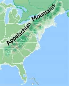 best 25 appalachian mountains map ideas on