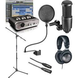 Home Recording Studio Kit How To Build A Home Recording Studio Part 3 Microphones