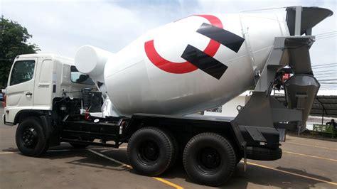 Truk Mixer Hino Bekas fm 260 jm jual truk hino mixer fm ranger kapasitas 7m3