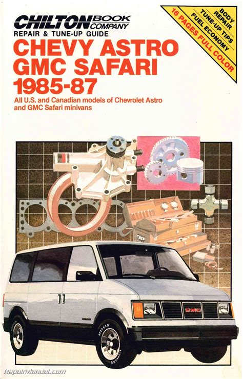 1985 2005 gm astro safari van chilton paper repair manual northern auto parts chevy astro van shop manual 2019 ebook library