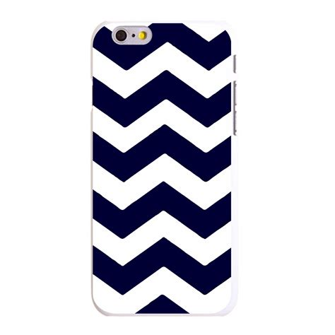 Iphone 6 6s Plus Arsenal Stripe Hardcase custom cover for iphone 5 5s 6 6s plus navy blue white chevron stripes ebay